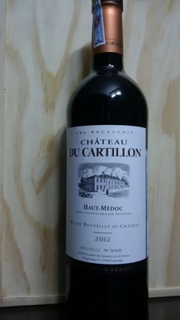 Chateau Du Cartillon 2012
