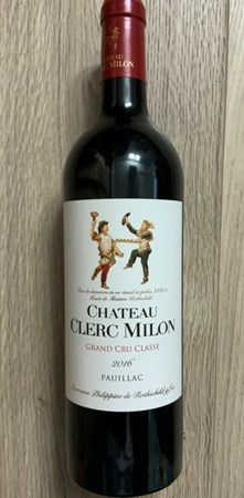 Chateau Clerc Milon 2016
