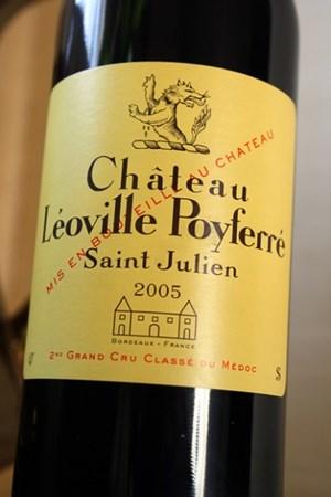 Kết quả hình ảnh cho vang pháp chateau leoville poyferre